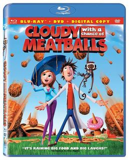 Cloudy with a Chance of Meatballs 2-Disc Blu-ray