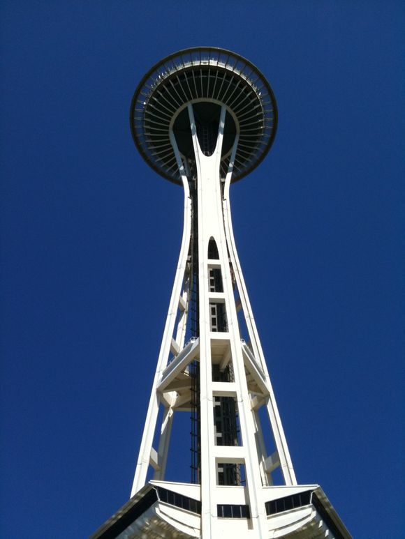Seattle: Day 5 <br>The Space Needle and the Magic Wand