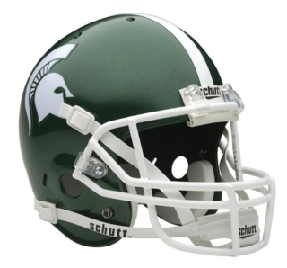 Michigan State Helmet